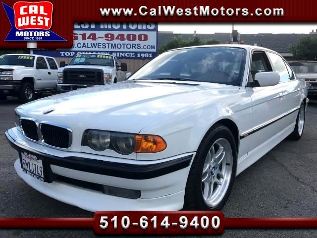 1999 BMW 7-Series 740iL Sedan Ultimate Driving Machine VeryClean