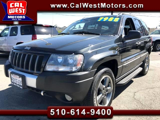 2004 Jeep Grand Cherokee 4WD Laredo Freedom Edition Roof VeryClean ExMtnceH