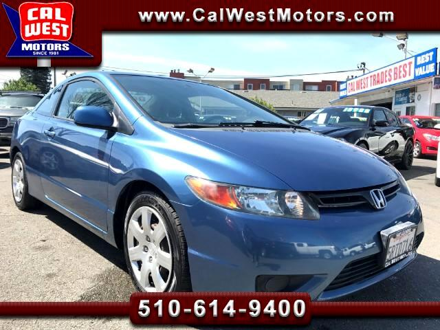 2006 Honda Civic LX Coupe Automatic 1Owner LoMiles VeryClean ExMPG