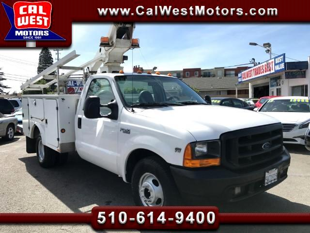 1999 Ford F-350 SD 28FT Boom Lift Dually Utility VeryClean ExMtnceHis