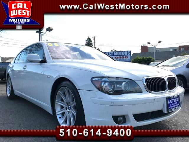 2006 BMW 7-Series 750Li Sedan 1Owner VeryClean VeryWellMntnd