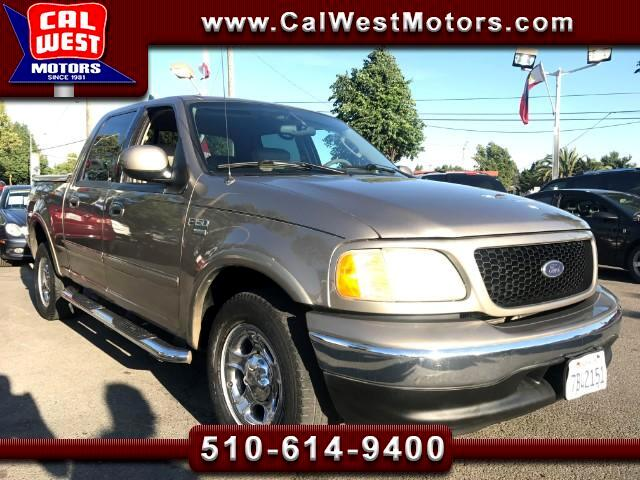 2003 Ford F-150 Lariat Super Crew Leather TowPkg SuperClean Nice!