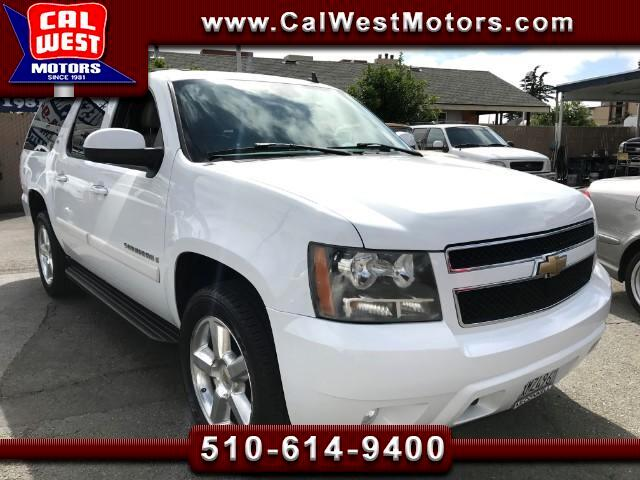 2007 Chevrolet Suburban LT 4X4 Z71 3Row 1Owner DVD Roof VeryClean ExMtnce
