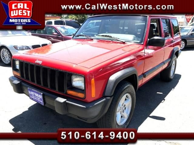 1997 Jeep Cherokee Sport 4D I-6 4X4 5-Speed 1Owner ExClean GreatMtnce
