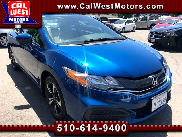 2014 Honda Civic Ex 2D Bluth BUcam 1Owner 15K LikeNew HondaWarranty