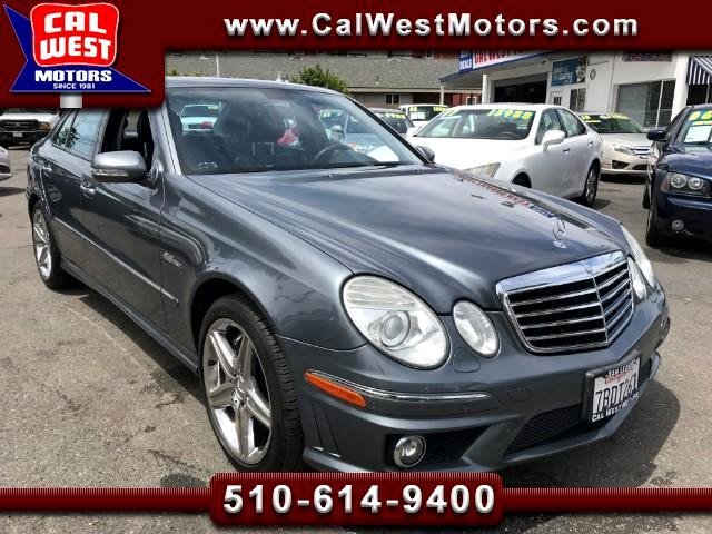 2007 Mercedes-Benz E-Class E63 AMG P2 NAV 507HP SuperClean GreatMtnceHist