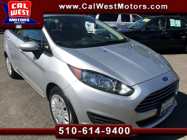 2015 Ford Fiesta Sedan 4D MicrosoftSYNC FordWarranty 1Owner VeryCle