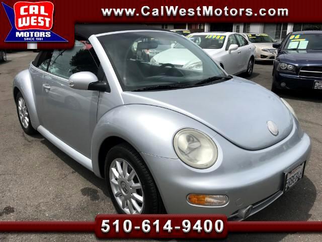 2004 Volkswagen New Beetle GLS Convertible LoMiles Auto VeryClean Roomy ExMPG