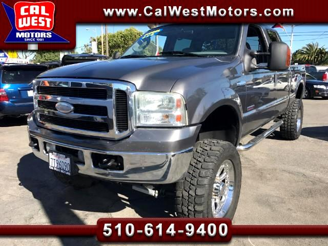 2005 Ford F-250 SD 4X4 Crew Cab XLT Diesel Lifted VeryClean ExMtnceHi