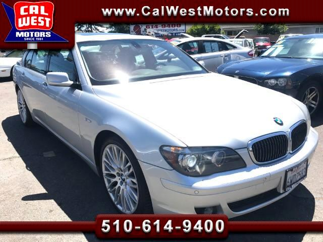 2008 BMW 7-Series 750Li Sport Luxury DVD NAV SuperClean ExpertlyMntn