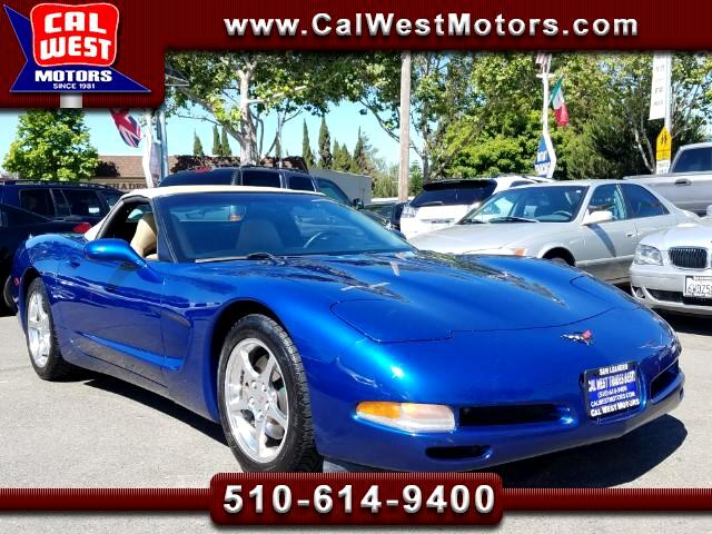 2002 Chevrolet Corvette Convertible LS1 350HP 6Speed 1Owner ExprtlyMaintnd