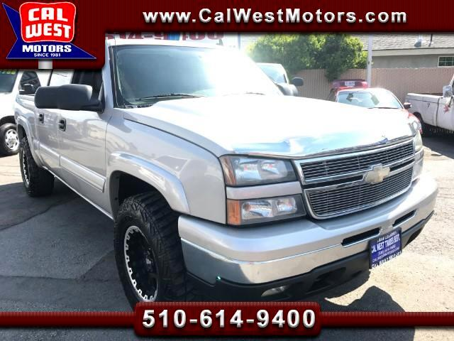 2006 Chevrolet Silverado 1500 LT 4X4 Crew Cab Z71OffRd Leather GreatMtnceHistory