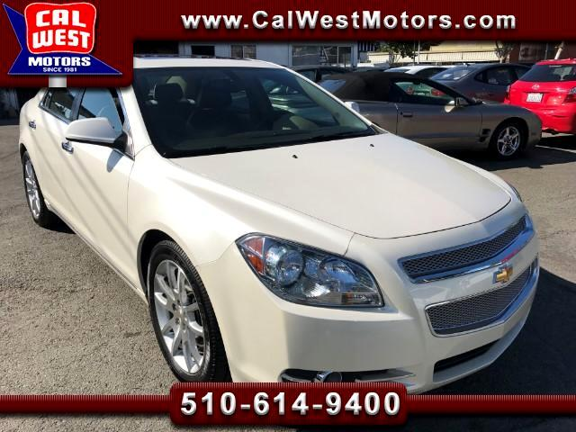 2010 Chevrolet Malibu LTZ Leathr Blu2th MRoof 1Owner VeryClean ExMtnceHi