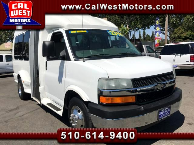 2006 Chevrolet Express TurtleTop 14-Passenger DRW Shuttle 1Owner Only44K