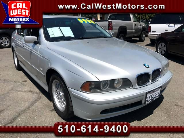 2002 BMW 5-Series 525i Sedan I-6 Cyl Auto VeryClean GreatMtnceHist