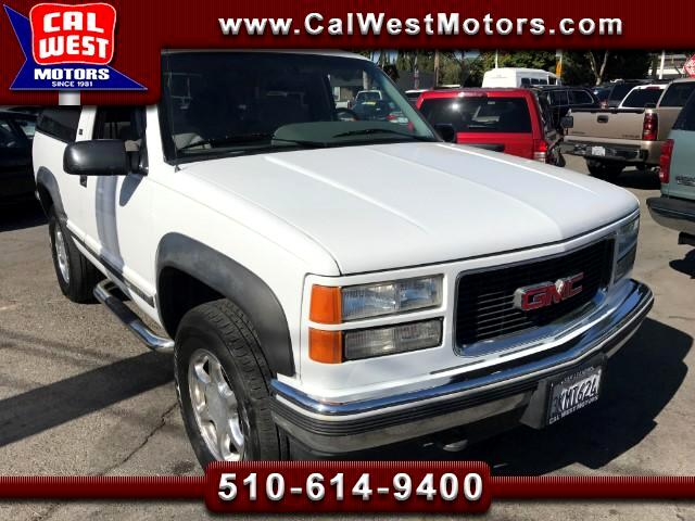 1995 GMC Yukon 4X4 SLE 2-Door VeryClean JustServiced WellMaintnd