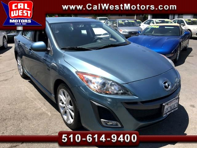 2010 Mazda MAZDA3 s Sport Hatchback 5D Blu2th 6CD 1Owner 65K Nice