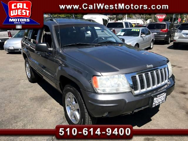 2004 Jeep Grand Cherokee 4WD Limited MnRoof Leather SuperClean GreatMtnceHi