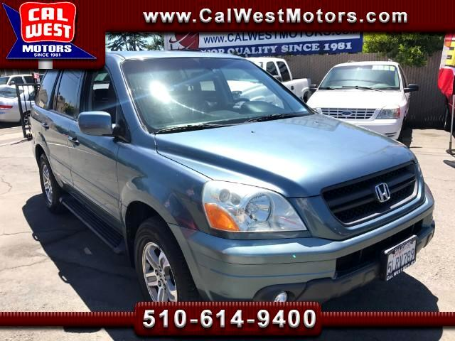 2005 Honda Pilot EX 4X4 SUV Leather DVD 1Owner ExprtlyMaintnd