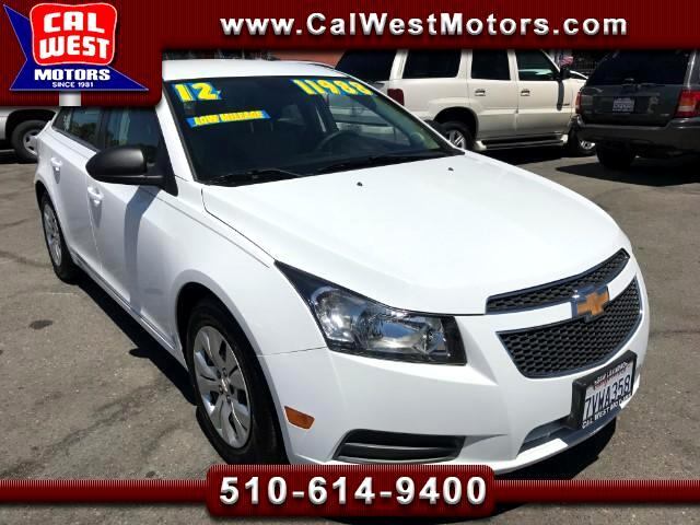 2012 Chevrolet Cruze LS Sedan Only22K SuperClean ExMPG GMWarrantyRemng