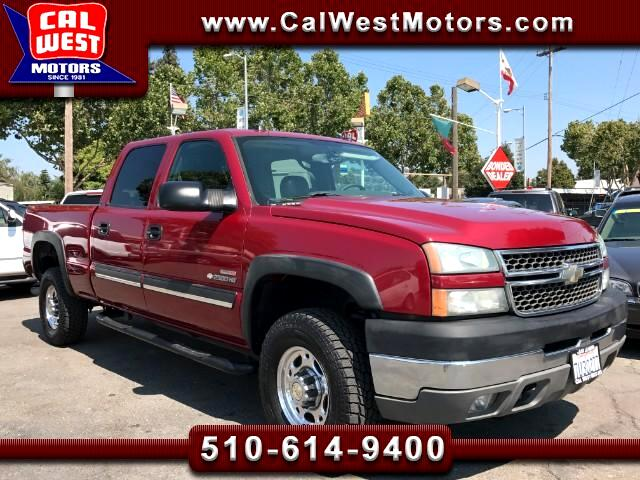 2005 Chevrolet Silverado 2500HD 4X4 LT CrewCab Duramax-Allison 1Owner SuperClean