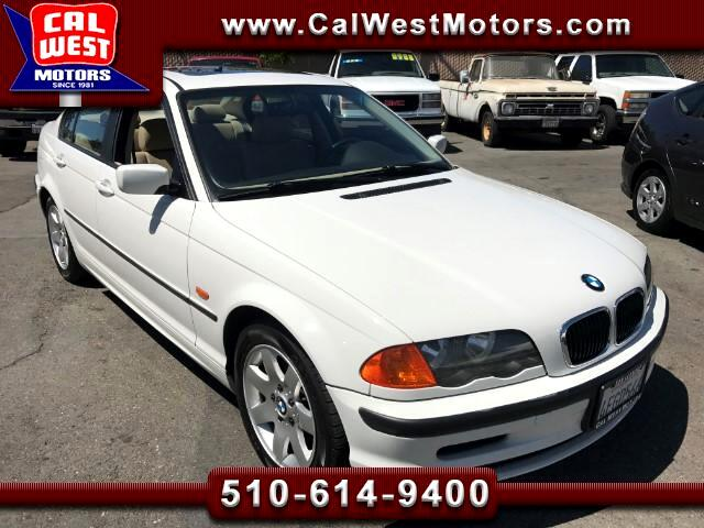 1999 BMW 3-Series 323i Sedan I-6 LowMiles SuperClean MPG+ GreatMtnce