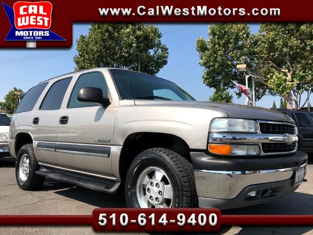2003 Chevrolet Tahoe 4X4 LT Roof Lethr DVD BOSE VeryClean ExMtnceHist