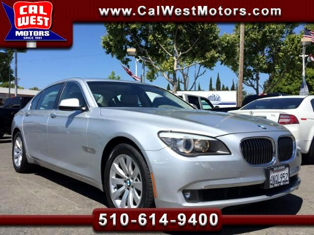 2011 BMW 7-Series 750Li Sedan NAV Blu2th LuxuryPkg 1Owner GreatMtnce