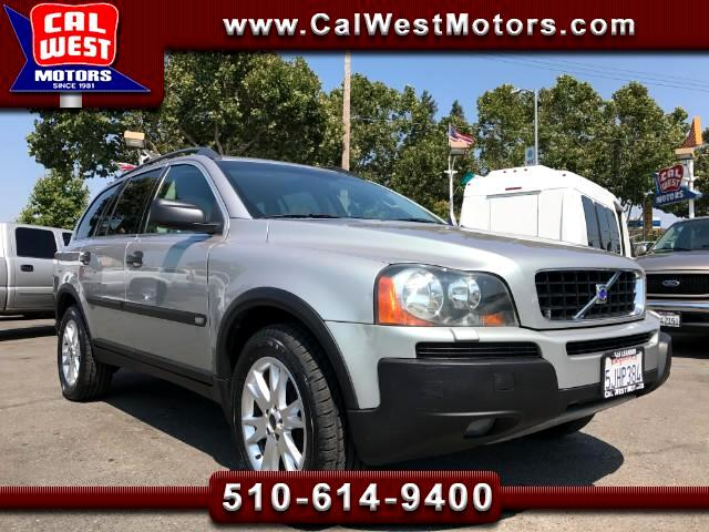 2004 Volvo XC90 2.5T AWD 3Rows Leathr VersatilityPk SuperClean