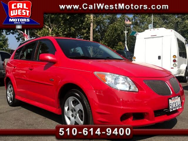 2006 Pontiac Vibe Sport Wagon 5D Versatile 1Owner VeryClean ExMtnceH
