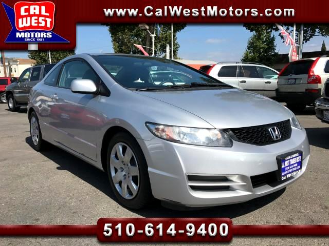 2010 Honda Civic LX Coupe Automatic 1Owner SuperClean ExMtnce