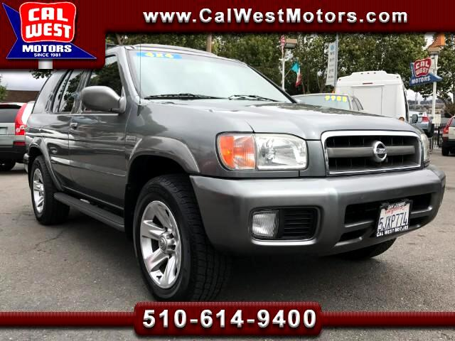 2004 Nissan Pathfinder 4X4 LE PlatinumEdition LoMiles VeryClean GreatMtnc