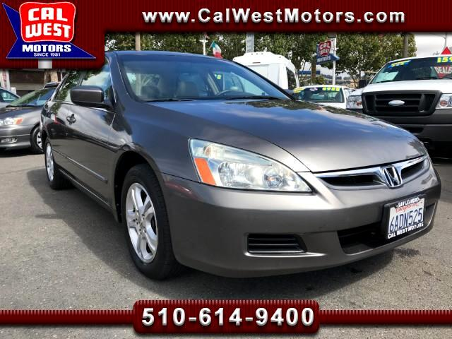 2007 Honda Accord EX-L Sedan 2.4L Leather MnRoof VeryClean GreatMtnc