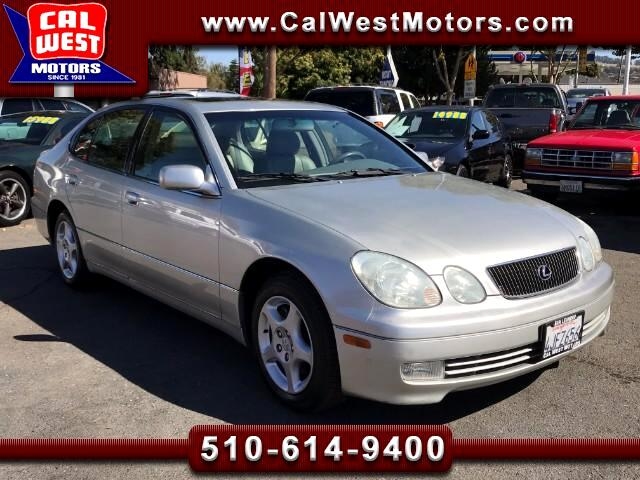 2000 Lexus GS 300 RWD Sedan I-6Cyl 1Owner VeryClean WellMntnd