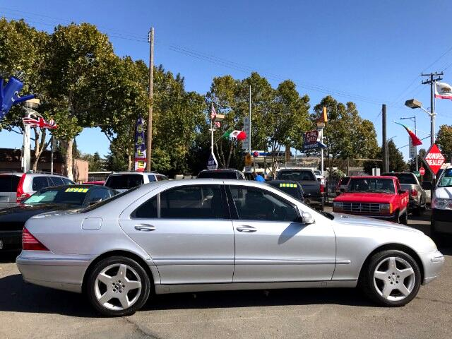 2001 Mercedes-Benz S-Class S430 Sedan V8-Power Roomy VeryClean ExpertlyMntnd
