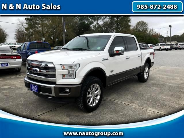 2016 Ford F-150 King-Ranch SuperCrew 5.5-ft. Bed 4WD