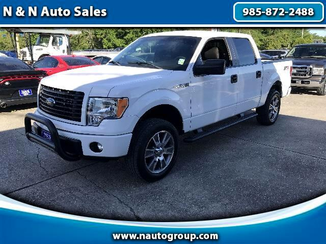 2014 Ford F-150 STX Sport 4x4 SuperCrew 5.5-ft Bed 4WD