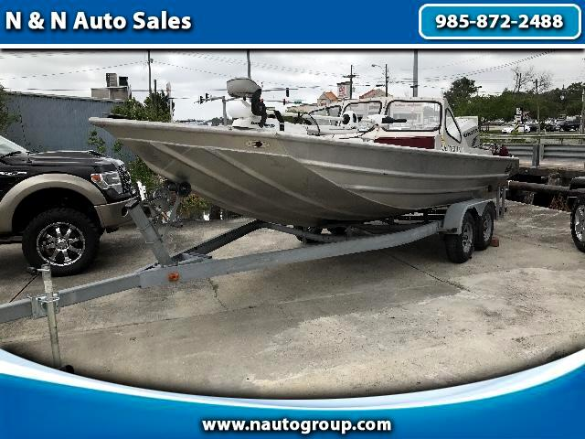 2008 Boat Custom Hanko 22' BayBoat Full Windshield