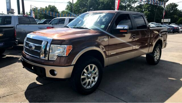 2011 Ford F-150 King Ranch SuperCrew Short Bed 4WD