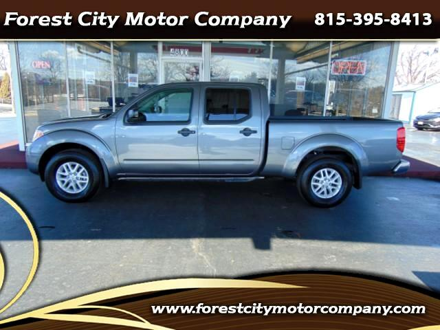 2017 Nissan Frontier SV Crew Cab LWB 5AT 4WD