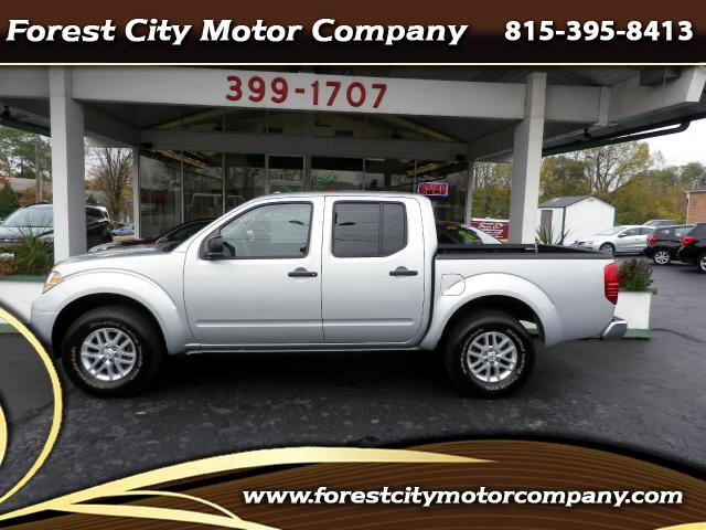 2016 Nissan Frontier SV Crew Cab LWB 5AT 4WD