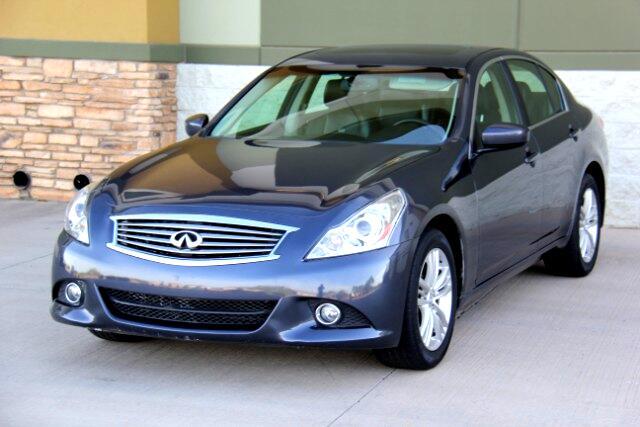 2012 Infiniti G Sedan 25x AWD