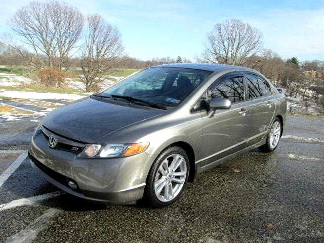used 2008 honda civic si sedan for sale in pittsburgh pa 15234 martin auto gallery. Black Bedroom Furniture Sets. Home Design Ideas