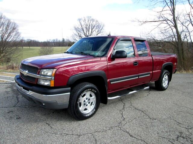 used 2004 chevrolet silverado 1500 lt ext cab long bed 4wd for sale in pittsburgh pa 15234. Black Bedroom Furniture Sets. Home Design Ideas