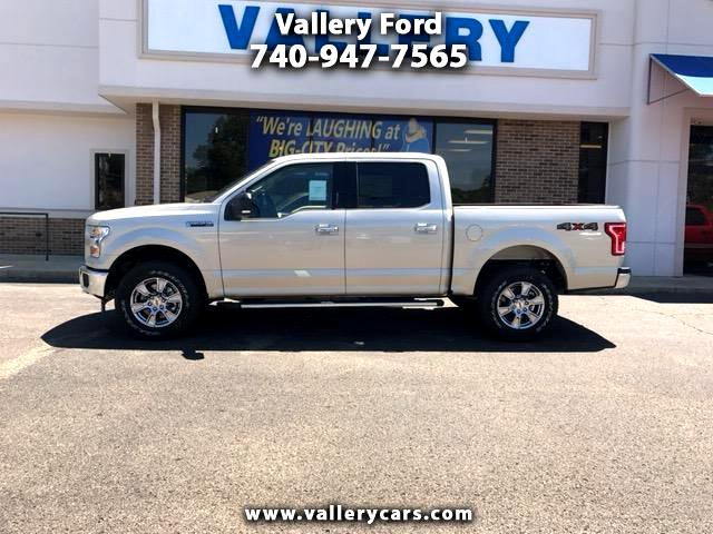 "2017 Ford F-150 4WD SuperCrew 145"" XLT"