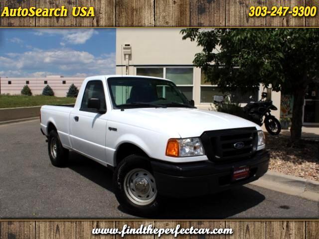"2005 Ford Ranger Reg Cab 118"" WB XL"