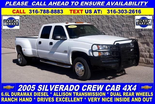 2005 Chevrolet Silverado 3500 LS Crew Cab 4WD DRW