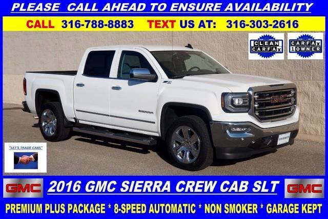 2016 GMC Sierra 1500 SLT Crew Cab Short Bed 4WD