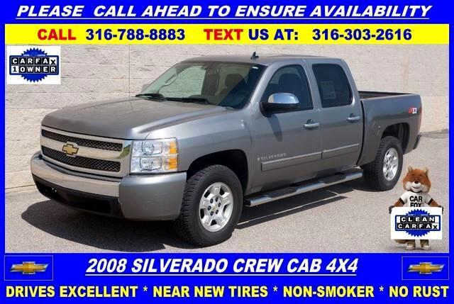 2008 Chevrolet Silverado 1500 2LT Crew Cab 4WD