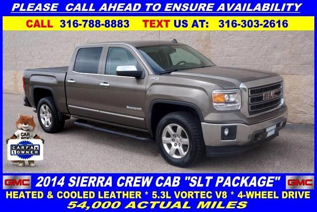 2014 GMC Sierra 1500 SLT Crew Cab 4WD